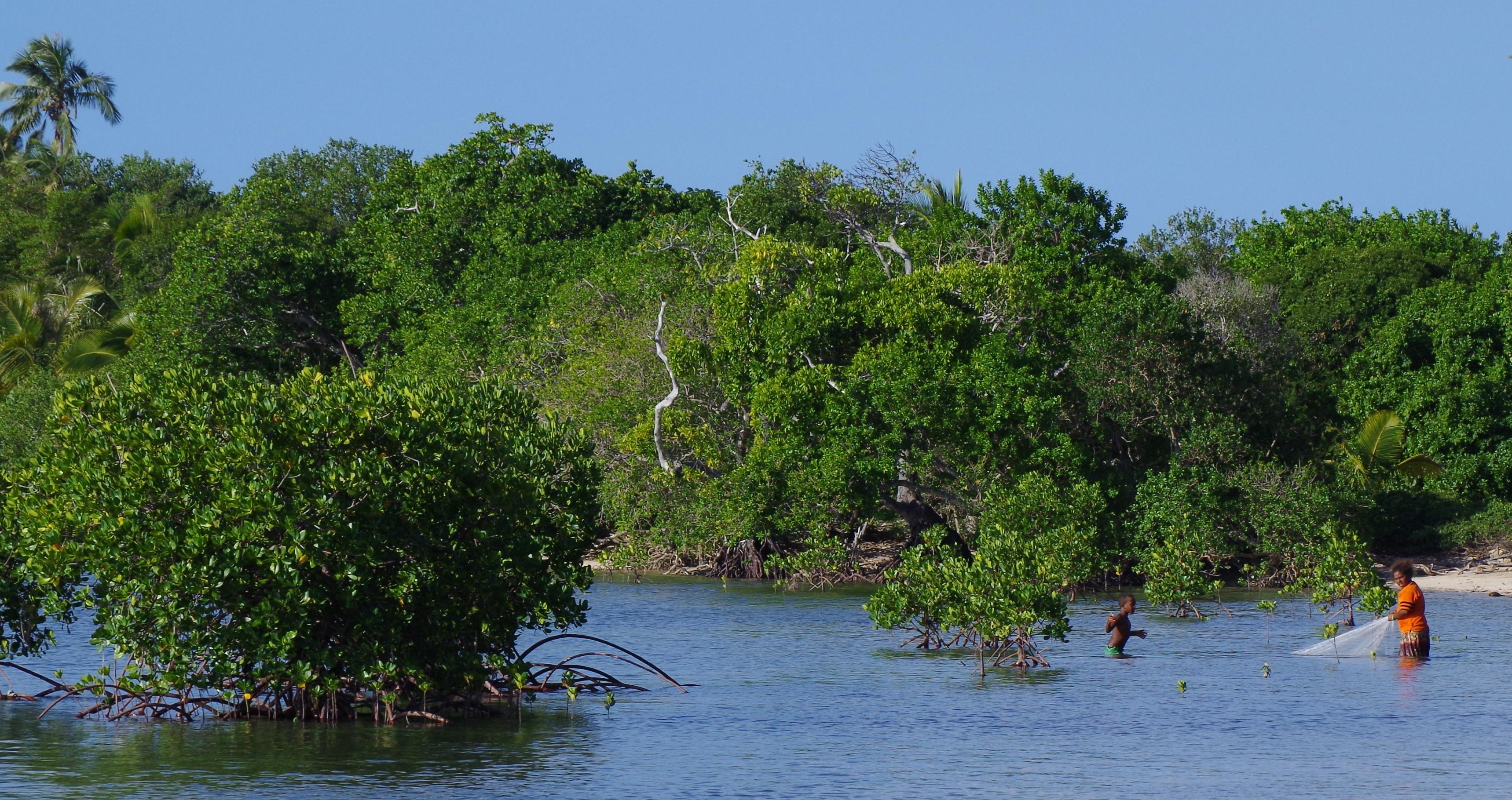 Pêche vivrière en Nouvelle Calédonie